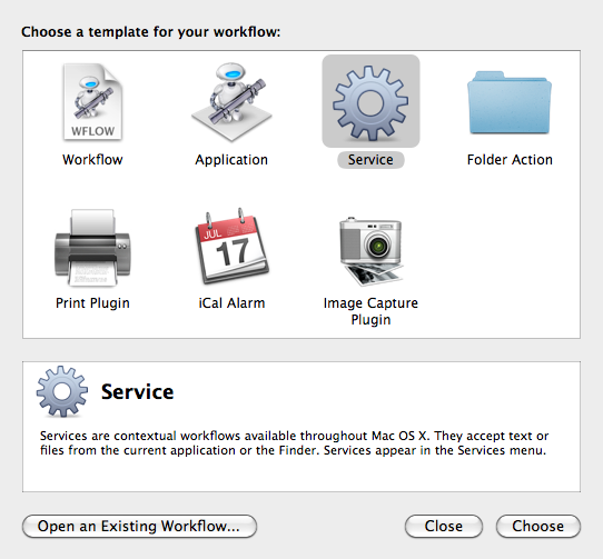 Create a new Service