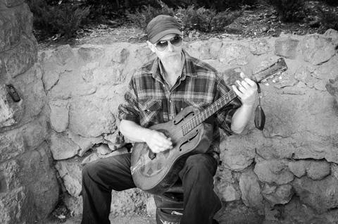 Guitarist at Park Güell, Barcelona